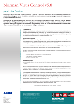 Norman Virus Control Domino (español)