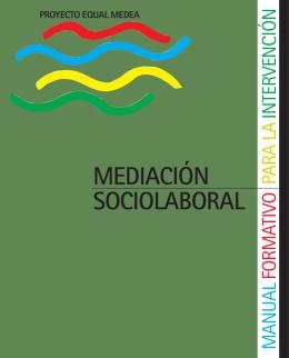 MEDIACIÓN SOCIOLABORAL - Comunidad Autónoma de la Región