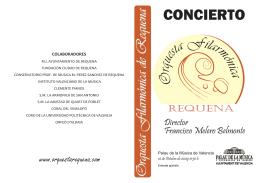 Programa Las Voces del Concierto