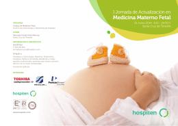 Programa Jornada Medicina Fetal 2014