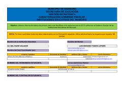 municipio de rionegro secretaría de educación gestión estratégica