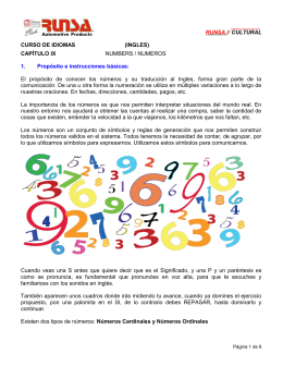 CURSO DE IDIOMAS (INGLES)