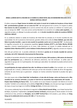 nota de prensa - subida gran hotel bali 2015