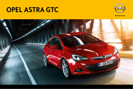 opel ASTRA GTC - Opel Prat Motor