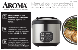ARC-1030SB Manual de instrucciones