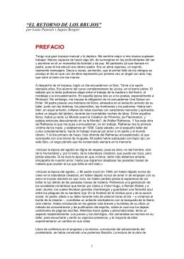 """""""EL RETORNO DE LOS BRUJOS"""""""