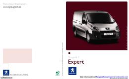 Catálogo del Peugeot Nueva Expert