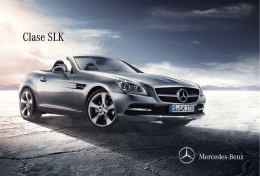 Clase SLK - Mercedes-Benz