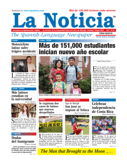 Version Digital - La Noticia - The Spanish