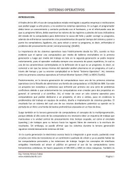 SISTEMAS OPERATIVOS - RedEstudiantil.com