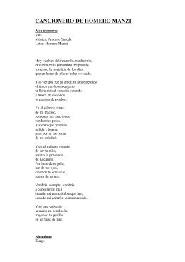 Manzi Homero - Cancionero completo ( tangos, milongas, etc.)