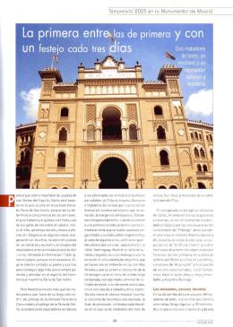 Anuario Taurino 2004 Parte II. - Asociación de la Prensa de Madrid