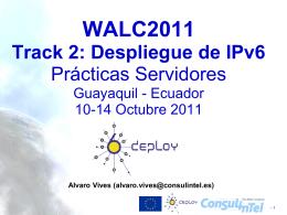 Servidores IPv6