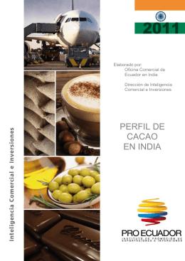 PERFIL DE CACAO EN INDIA