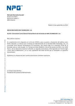 Caixa Catalunya - Bolsas y Mercados Españoles