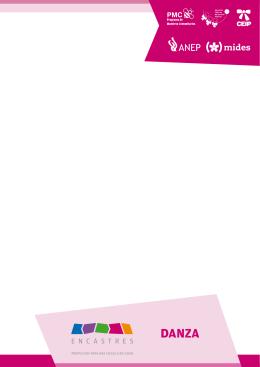 Encastre: Danza - Consejo de Educación Inicial y Primaria