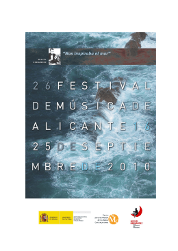 XXVI Festival de Música de Alicante