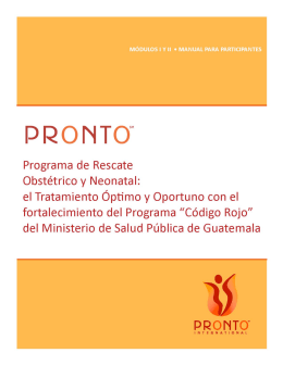 Manual final PRONTO – MSP - Centro de Investigación