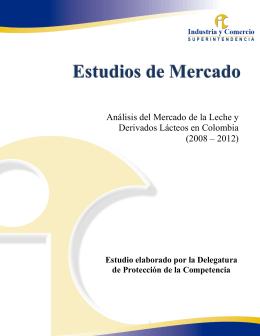 análisis del mercado de la leche y derivados lácteos en colombia