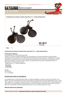 bolero negro fibra nº 5 - 4 Cajas de
