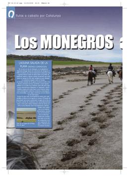 Ruta Los Monegros a caballo