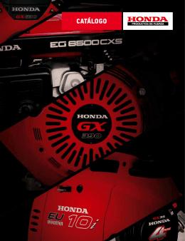 Catálogo PDF - Comoto Honda