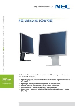 Descarga - NEC Display Solutions Europe