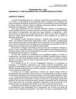 Estrategias de Lectura - Universidad de La Sabana