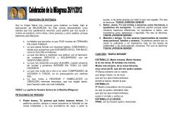 MONICIÓN DE ENTRADA - Hijas de la Caridad