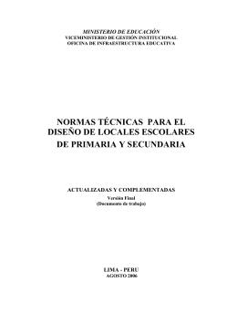 información - Ministerio de Educación del Perú