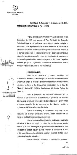 Resolución 754_5(MEd) - Ministerio de Educación de la Provincia