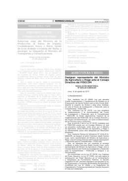 RM N 0455-2014-MINAGRI - Ministerio de Agricultura