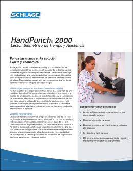 HandPunch® 2000