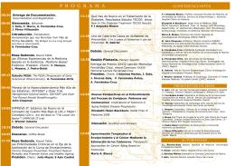 PROGRAMA XXXIV LM 2015 - Fundación Fernández-Cruz