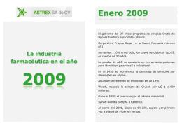 Anuario 2009 - Astrex SA de CV