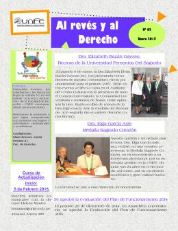 Boletín Nº 62 - enero 2015