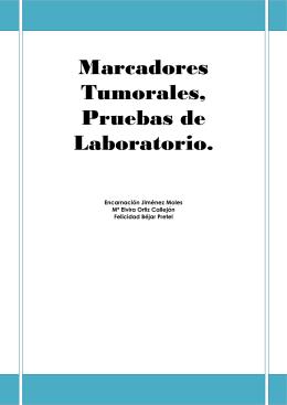 Marcadores Tumorales, Pruebas de Laboratorio.