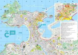 Mapa turístico - Turismo en A Coruña