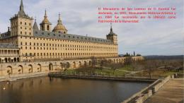El Monasterio San Lorenzo de el Escorial