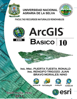Manual ArcGIS 10 Archivo
