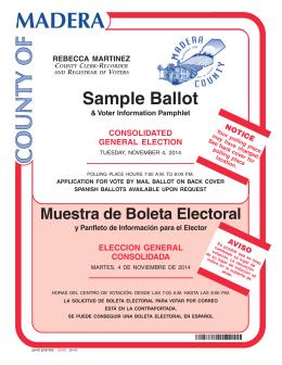 b official ballot