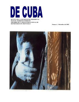 REVISTA DE CUBA en microsoft publisher..PUB