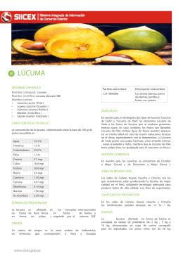 LÚCUMA - Siicex