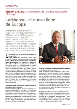 Lufthansa, el nuevo líder de Europa