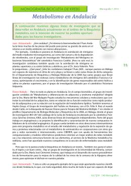 Metabolismo en Andalucía. Conectados. LSD. Los anuncios de la