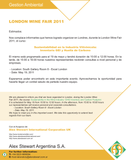 invitacion curso london wine 2011