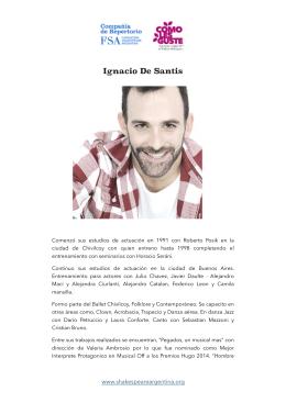 CV - Fundación Shakespeare Argentina