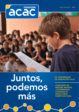 20° AniversArio de FundAción AcAc concurso de PinturA inFAntil