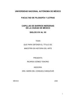 universidad nacional autónoma de méxico facultad de filosofía y