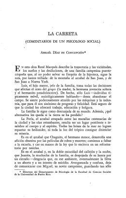 LA CARRETA - Revista de Ciencias Sociales